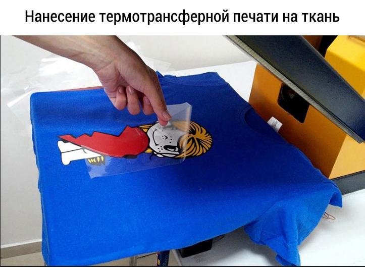 Как нанести рисунок на ткань
