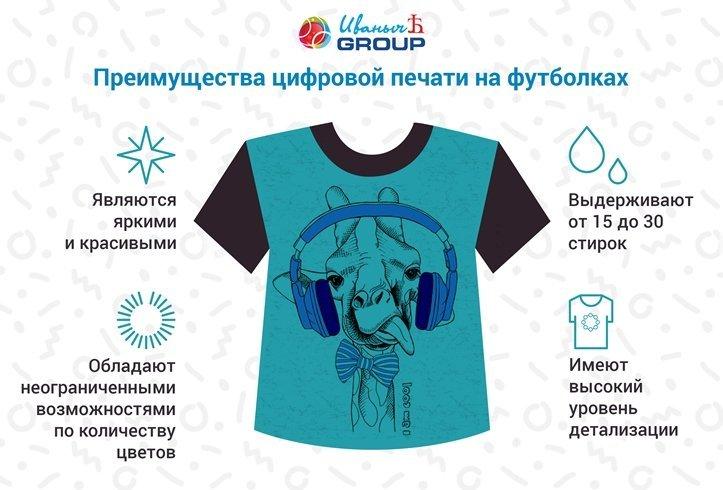 печать на футболках технология