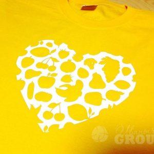 печать на футболках для влюбленных