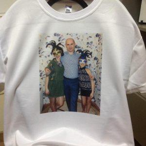 печать фото любимого на футболке