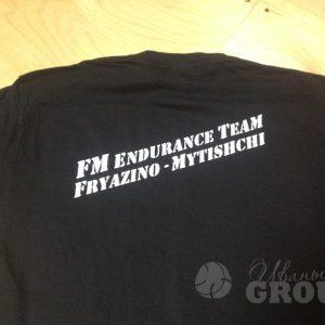 печать на промо футболках