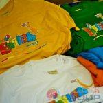 полноцветные логотипы на футболках