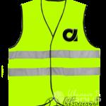 Жилет сигнальный с логотипом
