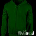 Темно-зеленая толстовка мужская