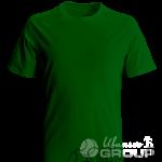 Темно-зеленая футболка на заказ