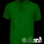 Темно-зеленое поло на заказ