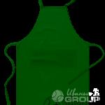 Тёмно-зелёный фартук