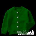 Темно-зеленый бомбер детский