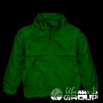Темно-зеленая ветровка детская