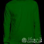 Темно-зеленый свитшот промо