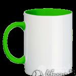 Зеленая кружка под нанесение