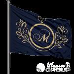 Печать на флагах