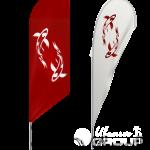 Нанесение логотипов на флаги