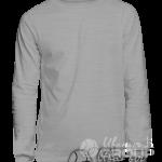 Серый-меланж свитшот на заказ