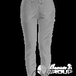 Серый-меланж штаны женские