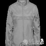 Серый-меланж ветровка женская