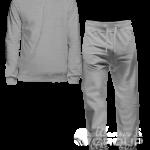 Серый-меланж костюм на заказ