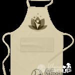 Срочная печать логотипа на фартуке