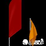 Флаги различных размеров