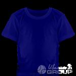 Темно-синяя детская футболка