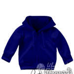 Темно-синяя толстовка детская