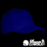 Темно-синяя бейсболка на заказ