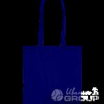 Темно-синяя сумка бязь