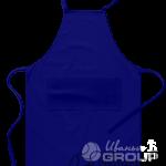 Темно-синий фартук на заказ
