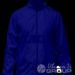 Темно-синяя ветровка на заказ