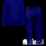 Темно-синий костюм на заказ