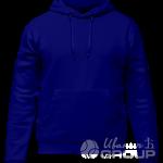 Темно-синее худи