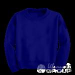 Темно-синий свитшот детский