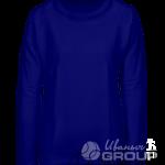 Темно-синий свитшот женский