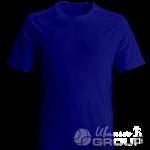 Темно-синяя футболка на заказ