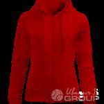 Красная толстовка женская