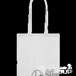 Белая сумка бязь