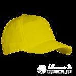 Желтая бейсболка на заказ