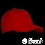 Красная бейсболка на заказ