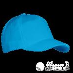 Голубая бейсболка на заказ