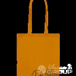 Оранжевая сумка бязь