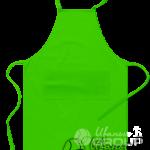 Зеленый фартук на заказ
