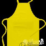 Желтый фартук на заказ