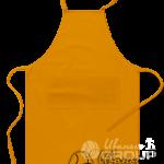Оранжевый фартук на заказ