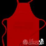 Красный фартук на заказ