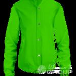 Зеленый бомбер женский