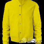 Желтый бомбер на заказ
