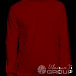 Бордовый свитшот премиум