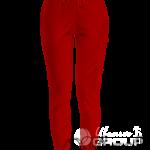 Красные штаны женские