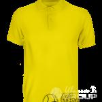 Желтое поло промо