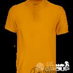 Оранжевое поло на заказ